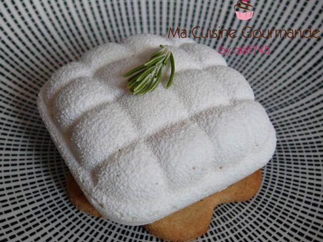 Coussin vanille abricot romarin