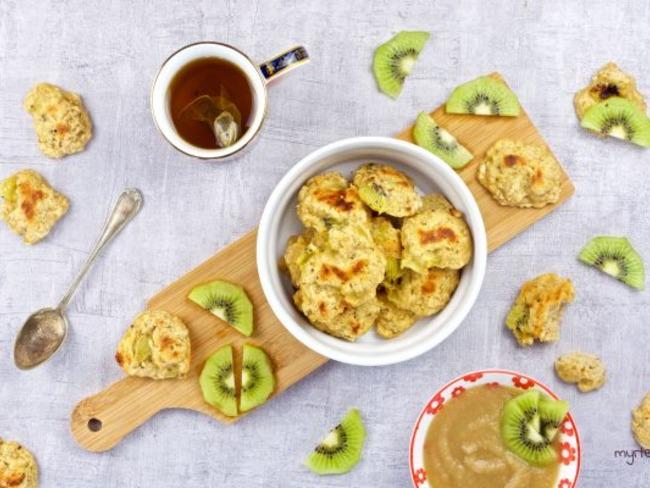 Des biscuits au kiwi