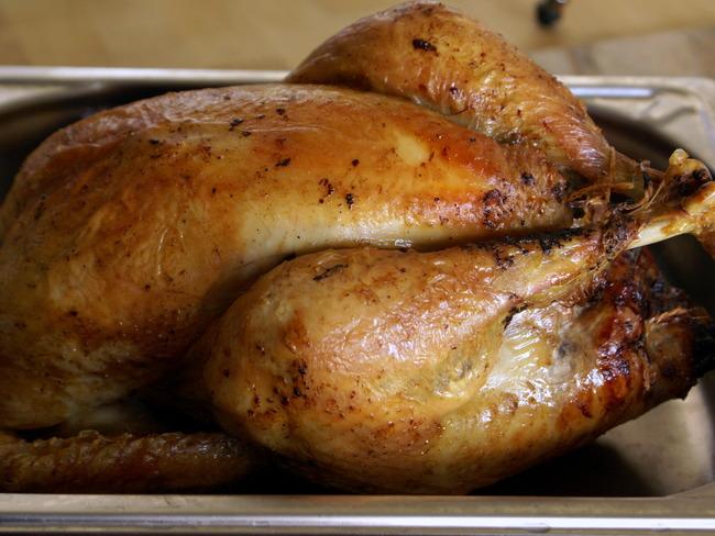 Chapon farci au foie gras : la farce
