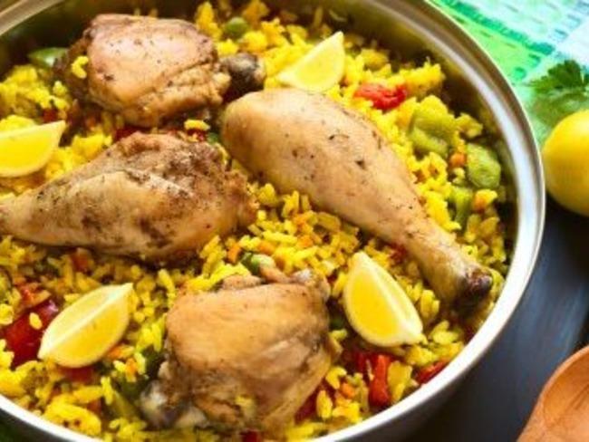 Paella de poulet au cookeo