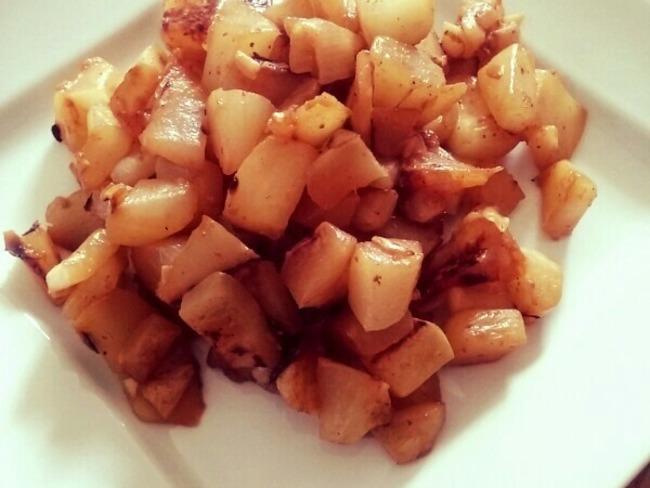 Pâtisson mijoté au piment d'Espelette