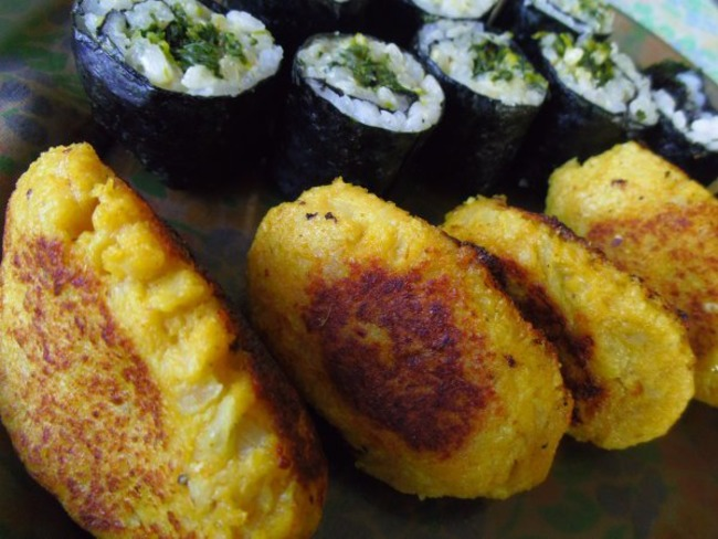 Nuggets de chou-fleur au curry