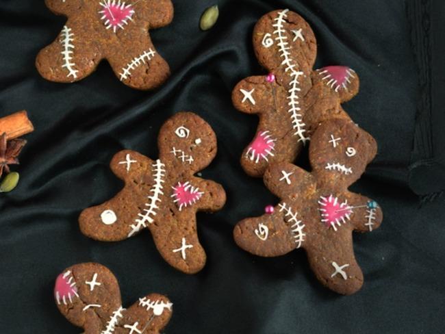 Voodoo cookies au potiron, mélasse et quatre épices