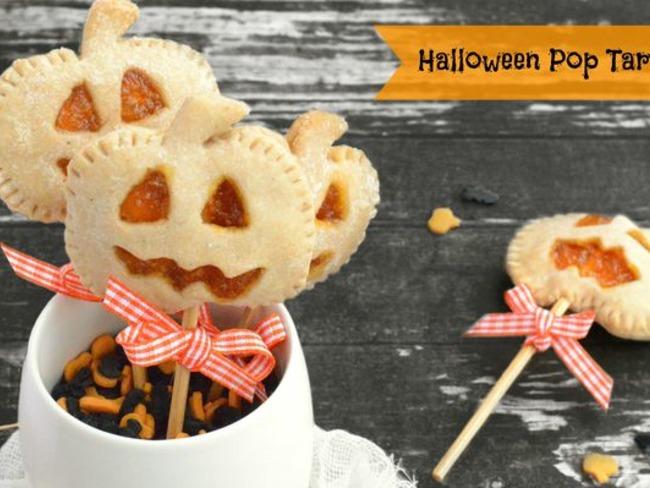 Halloween pop tart