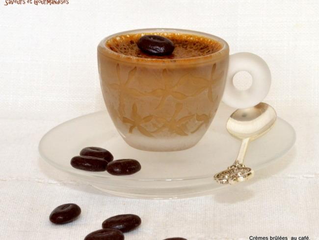 Crèmes brûlées au Café