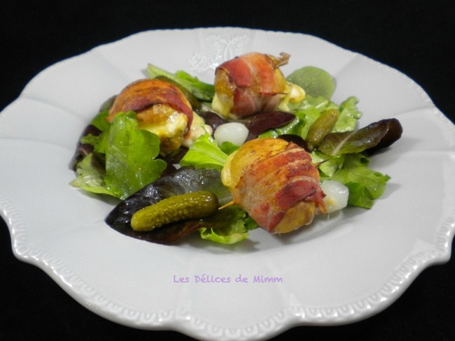 Salade raclette
