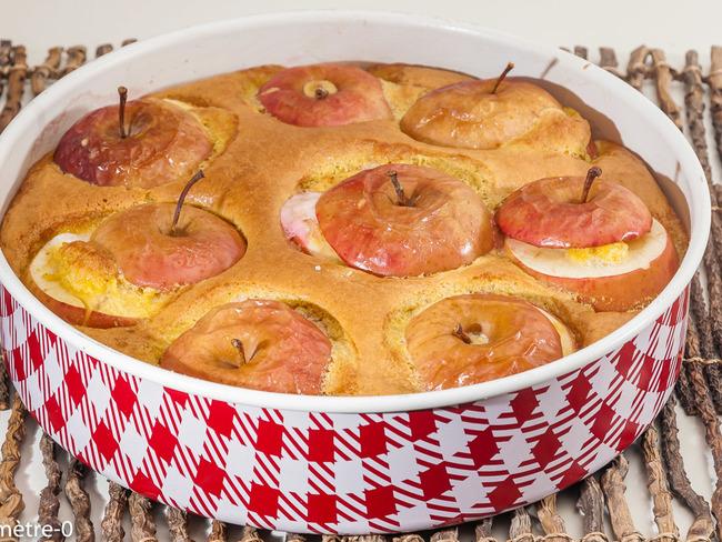 Gâteau pommes noisettes