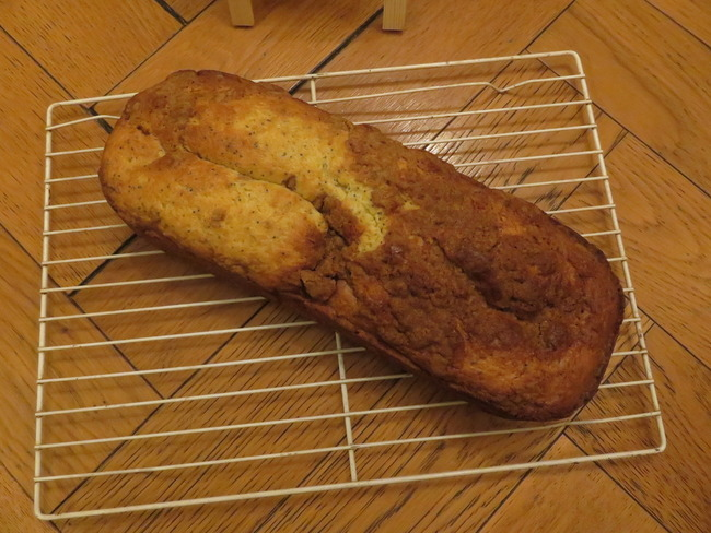 Mon crumbcake citron-pavot au cream cheese