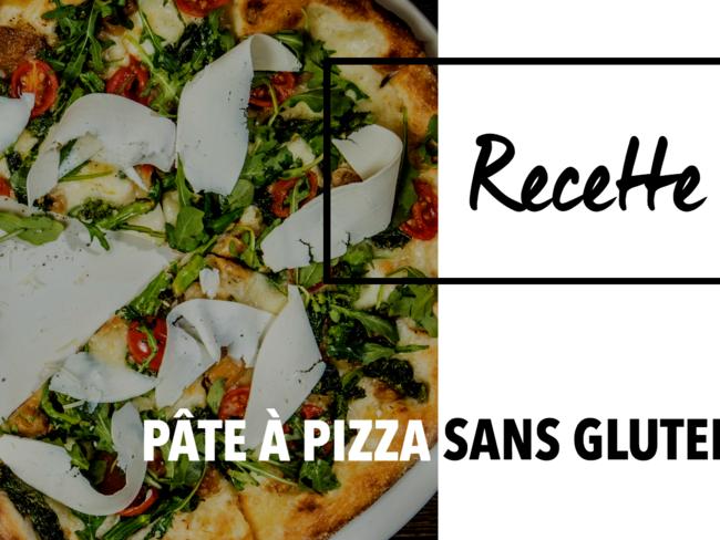 Pâte à Pizza Sans Gluten et Vegan