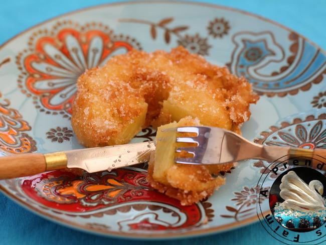 Beignets d'ananas