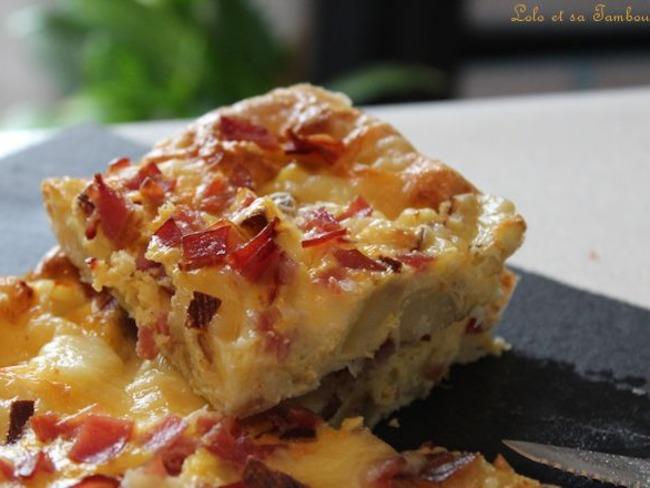 Tortilla de pommes de terre et raclette