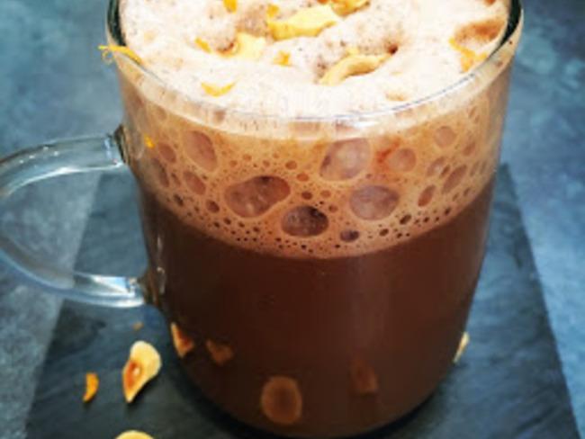 Chocolat chaud orange noisette