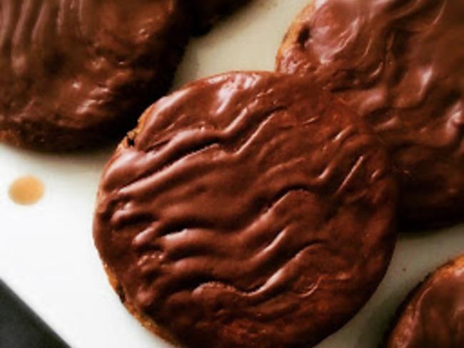 Biscuits granolas