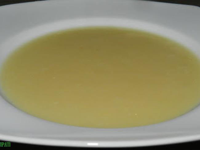 Potage aux légumes anciens