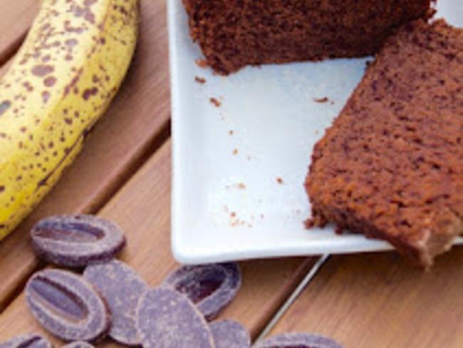 Bananabread au chocolat