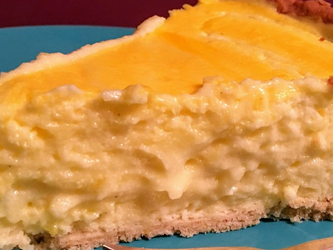 Tarte au fromage blanc de Felder