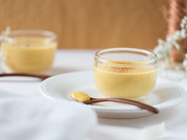 Crèmes de mangue aux épices
