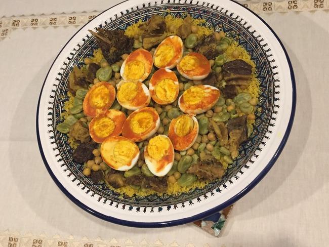 Le couscous au kaddid de Mehdi