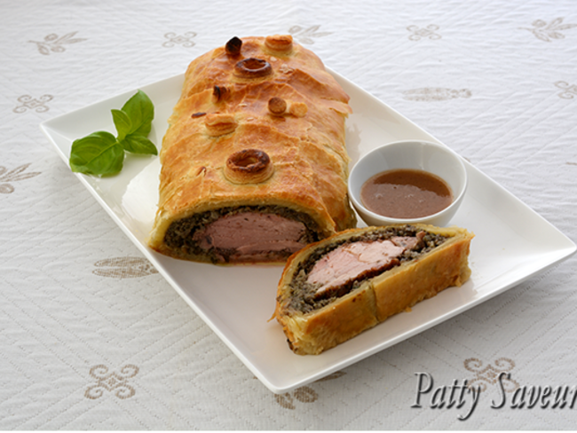 Porc Wellington sauce Porto