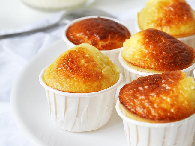Mini muffins citron yuzu
