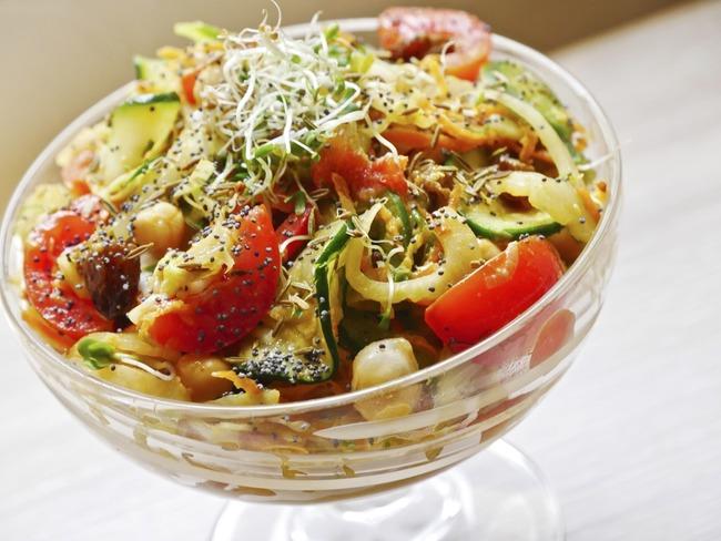 Salade multivitaminée et protéinée