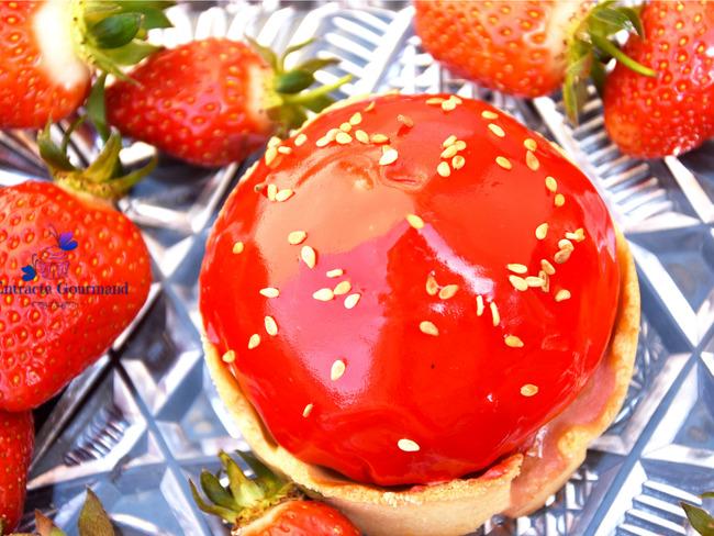 Tartelettes fraise de Cédric Grolet