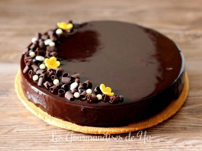Tarte royale chocolat