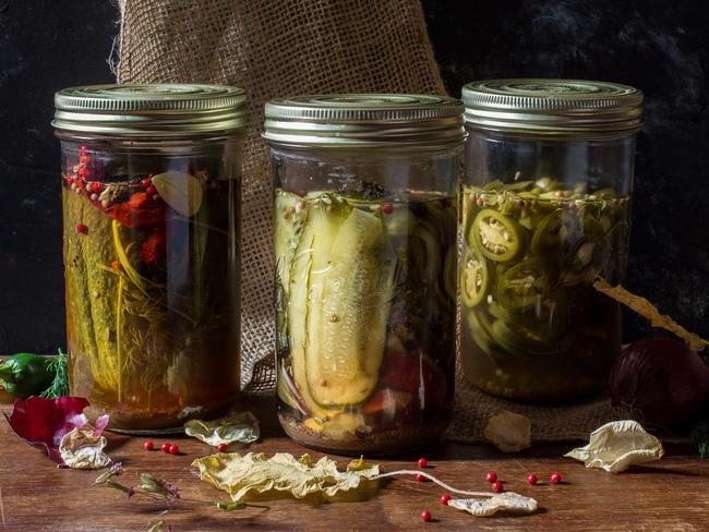 Des pickles à picorer