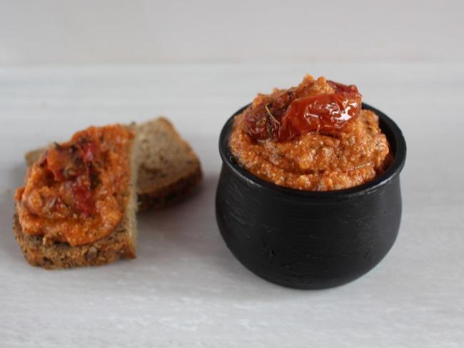 Pesto rouge aux tomates séchées maison