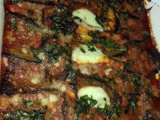 Gratin d'aubergine alla parmigiana