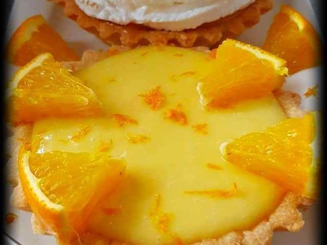 Tarte à l'orange meringuée ou pas