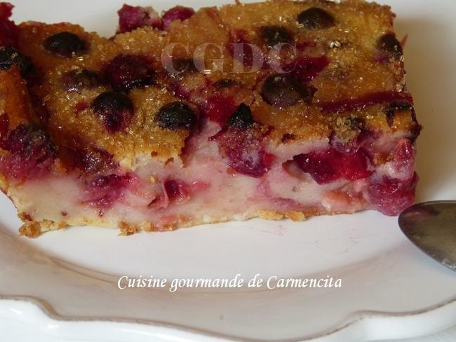Cuajada aux cranberries et Limoncello