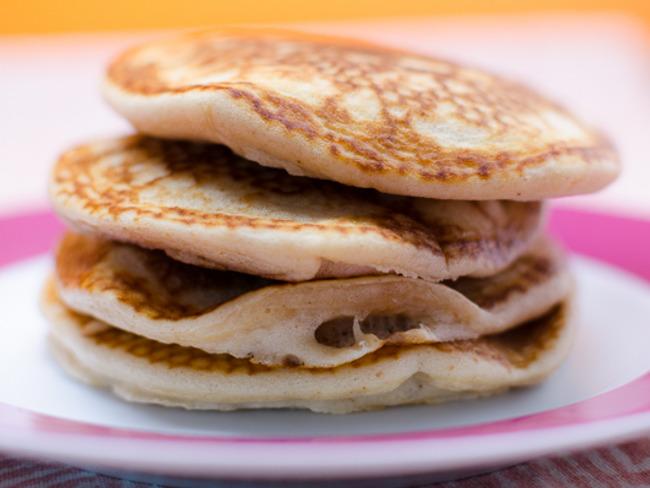 Pancakes au beurre de cacahuètes