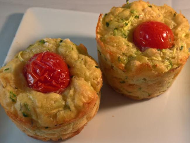 Muffins Salés à la courgette et Parmesan