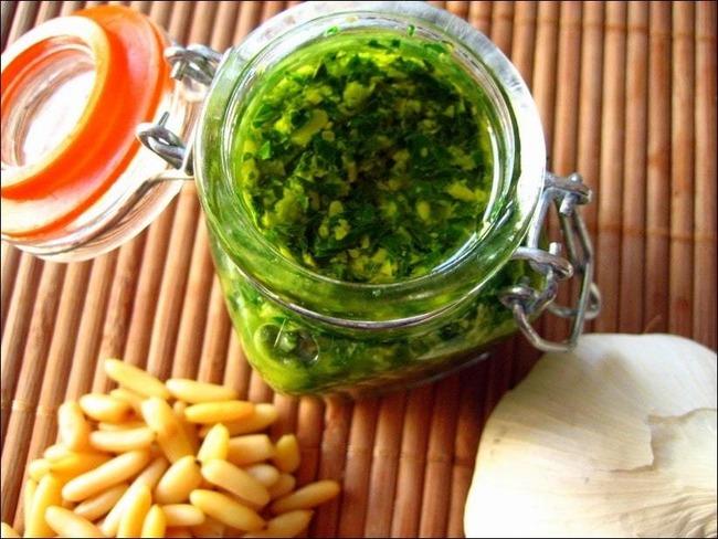 Pesto vert traditionnel