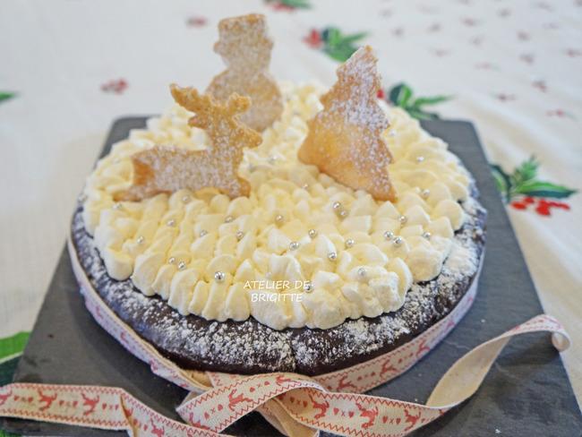 Le gâteau pour attendre le Père Noël