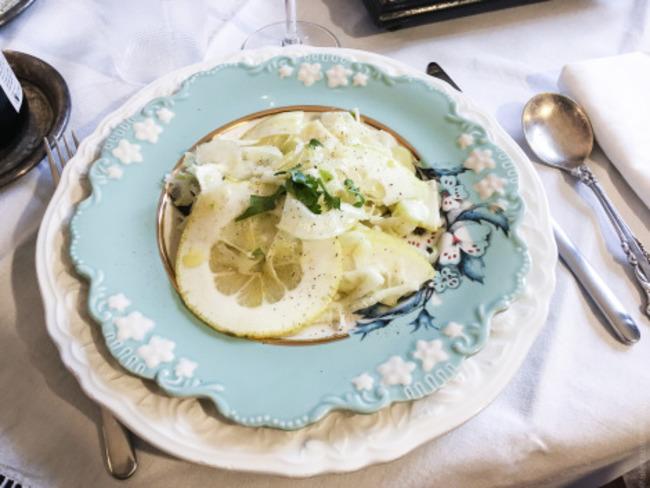 Salade de fenouil et cédrat