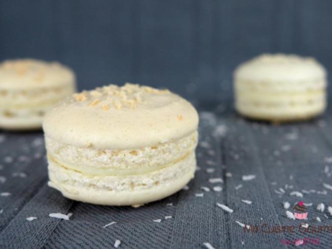 Macaron noix de coco