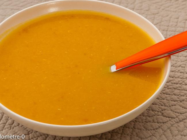 Soupe de navets et patate douce