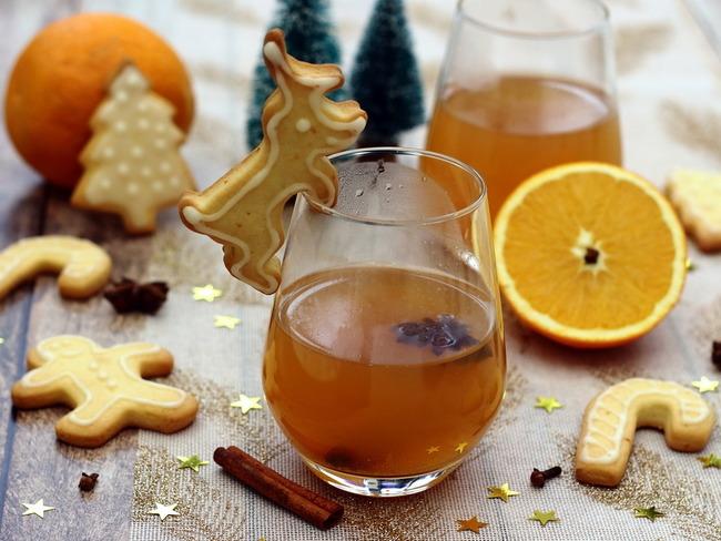 Cidre chaud pour Noël