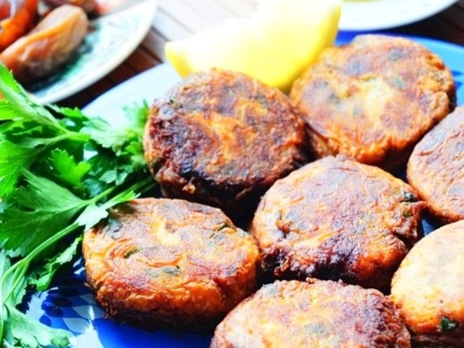Maakouda galette de pomme de terre algérienne