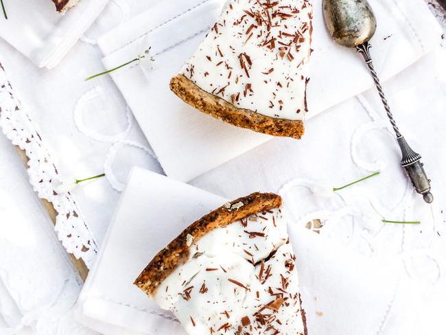 Tarte haupia et chocolat