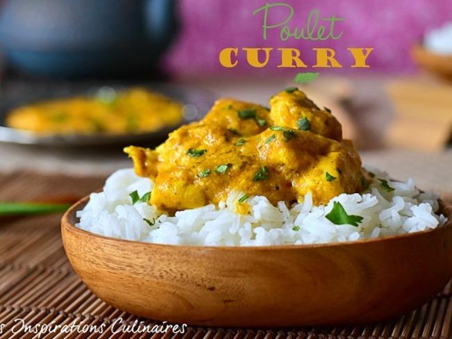 Poulet au curry facile