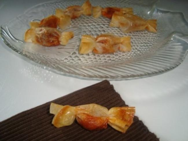 Bonbons au thon et à la tomate