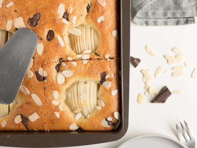 Gâteau poire chocolat amande