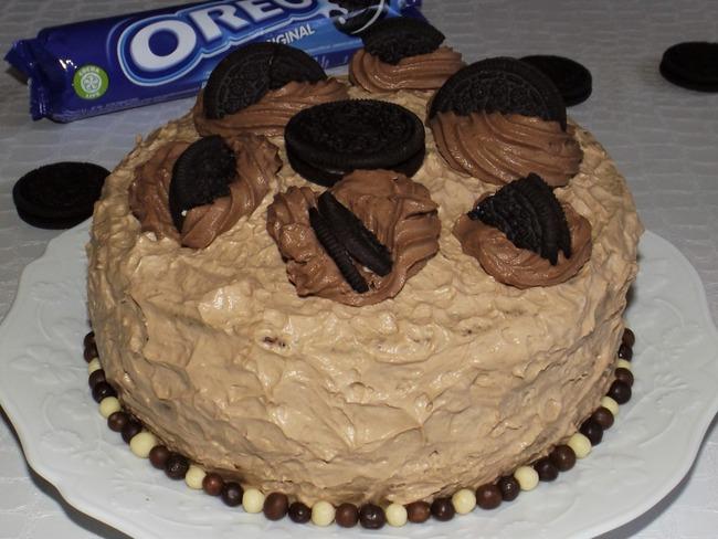 Layer cake aux Oréo