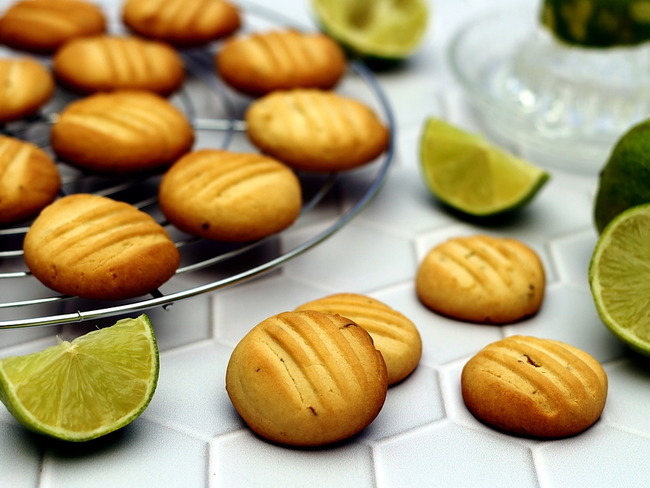 Biscuits au citron et miel