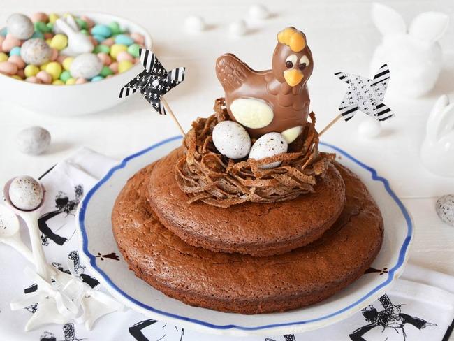Gâteau de Pâques à la bretonne chocolat sarrasin
