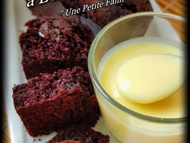 Cake au chocolat et à l' huile de coco