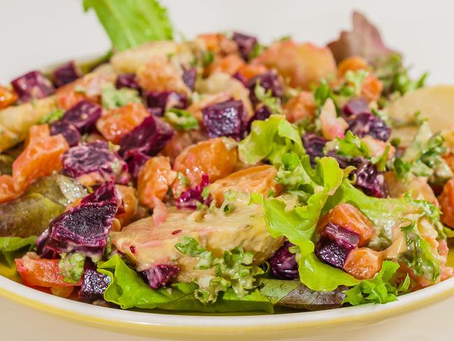 Salade russe haïtienne
